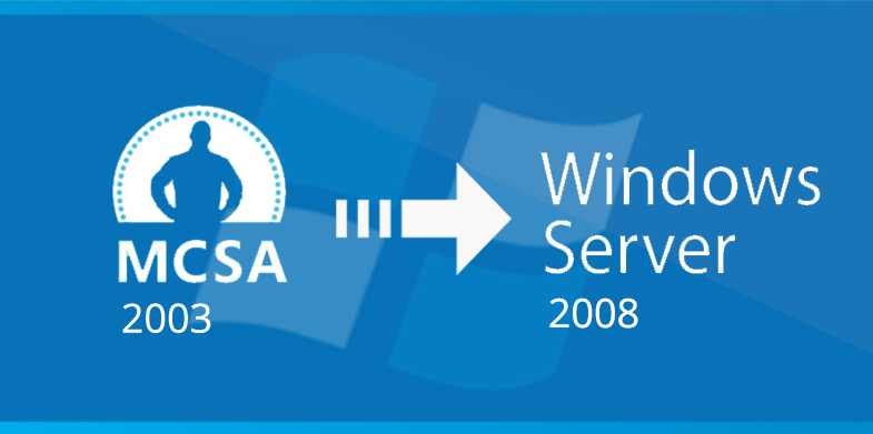 MCSA 2003 to Server 2008 Upgrade